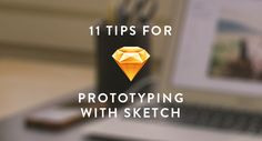 The fine folks over at Bohemian Coding built Sketch specifically for designers who make things for screens, so it's a natural for prototyping. Here are a few tips for using Sketch to prototype that should make things smoother, faster, and easier for ya. Online Web Design, Web Technology, Ui Design, Graphic Design, Web Development, Style Guides, Sketch, Productivity, Cloud