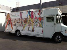 Fashion Boutique Trucks | Mobile Fashion(able) Womens Boutique Gets a Partial Truck Wrap