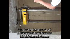 Automatic plastering machine instead of manual plastering for drywalls, plaster walls are common in homes that are older than century, after which g. Cement Render, Youtube Share, Construction Machines, Plastering, Plaster Walls, Gypsum, Drywall, Manual, Homes