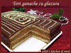 TORT GANACHE CU GLAZURA