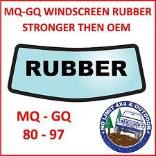 MQ - GQ NISSAN PATROL FRONT WINDSCREEN REPLACEMENT RUBBER SEAL ARB 4WD 3MM BIG