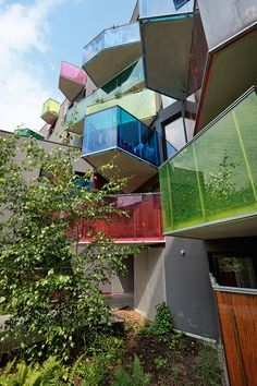 Seguin Apartment Building architects Agence Bernard Bühler
