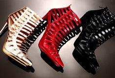 First Love Shoes -                                                                        Miu Miu Peep Toe Pump                                 L.A.M.B. Oldwyn Pumps                                 L.A.M.B. Ohio II Pumps                                 Jimmy Choo Quaker Heel – Made in Italy             ...  #Costume, #Laceup, #Pump, #Rhinestone, #ZipClosure