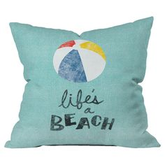 Life's A Beach pillow