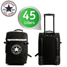Converse All-Over Cabin Size Trolley Regular Black! € 89,95 voor € 34,95