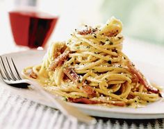 Rýchla talianska večera po práci: Špagety carbonara