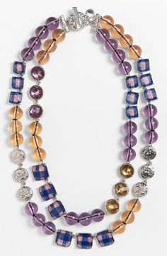 MARC BY MARC JACOBS 'Paste & Prints' Multistrand Necklace available at Nordstrom w/matching ring too! #shopwithme