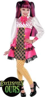 Monster High Draculaura Costume for Girls - Party City