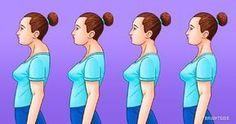 Mi a banyapúp, és hogyan kell helyrehozni (Ez nem csak a testtartásodról szól) Back Hump, Buffalo Hump, Posture Exercises, Perfect Posture, Spiritual Coach, Magical Thinking, Bad Posture, Improve Posture, Back Muscles