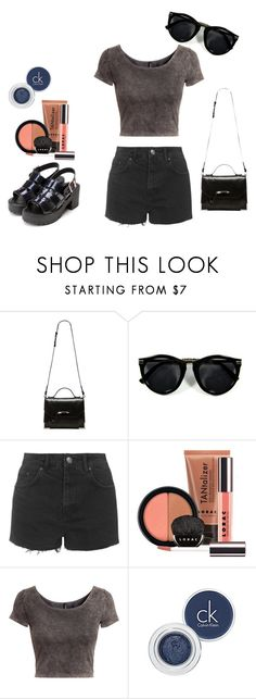 """""""No title .4"""" by luckylukebrooks ❤ liked on Polyvore featuring Mackage, Topshop, LORAC, H&M and ck Calvin Klein"""