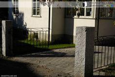 Molnsätra Gård - Natursten - Grindstolpar i granit - Molnsätra
