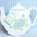 Cute teapot. Also available in other formats for various cutters.
