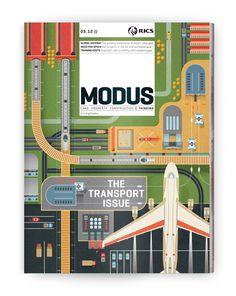 Illustration: Modus Magazine on Behance