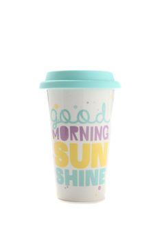 take away mug, SUNSHINE