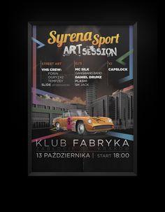 Wódka Żołądkowa Gorzka - Syrena Sport Art Session by Million Killer Ideas , via Behance