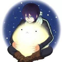 Precious *^* Yato hugging Yukine~