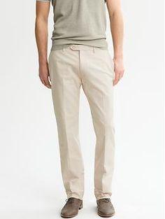 Heritage Micro-Stripe Tab-Waist Trouser
