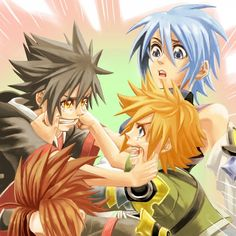 Tags: Anime, Fanart, Pixiv, Aqua (Kingdom Hearts), Kingdom Hearts: Birth by Sleep