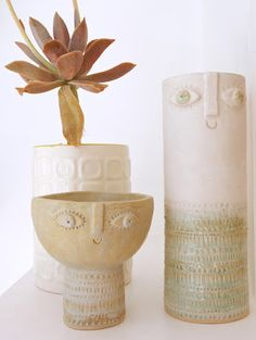 Atelier Stella vases via Jane Foster Blog