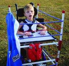Fighter Halloween wheelchair costume | Quest Magazine Online