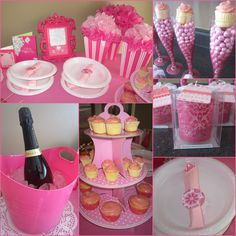 DIY Pink party inspired by Pinterest