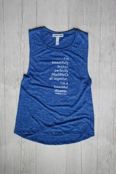 PERFECTLY IMPERFECT DECKLYN MUSCLE TANK