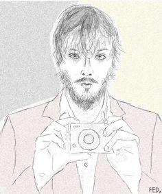Guy holding camera