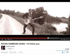 Io sull'argine del fiume Adige ad Albaredo riprese per il video di Sambora: https://www.youtube.com/watch?v=UXVFw_nTHJ8