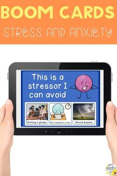 What Can I Control? Stress and Anxiety Boom Cards Distance Learning Growth Mindset Activities, Social Skills Activities, Elementary School Counselor, Elementary Education, Group Counseling, School Counseling, Bullying Prevention, Social Emotional Learning, Character Education