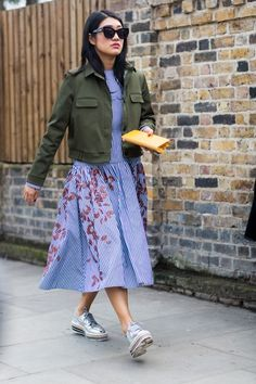 Best London Fashion Week Street Style Fall 2015 | Teen Vogue