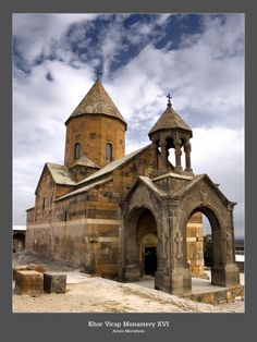 "The Khor Virap (Armenian: Խոր Վիրապ, meaning deep pit or ""deep well"") is an Armenian Apostolic Church monastery located in the Ararat plain in Armenia"