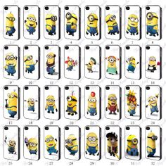 Minions iPhone Cases iPhone 5 Case iPhone 5S Case by FlyAngels, $7.99