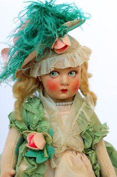 "Antique Lenci Doll ""Lucia"""