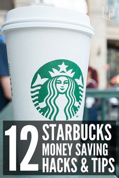 Life Hacks : 12 Incredible Starbucks Hacks To Save You Money Awesome Starbucks Money Saving Hacks and Ideas! Never will I pay full price again! Best Money Saving Tips, Money Tips, Saving Money, Money Hacks, Money Savers, Managing Your Money, Save Your Money, Ways To Save Money, Frugal Living Tips