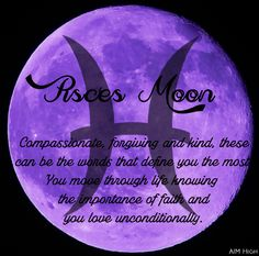 Keywords a Pisces Moon can relate to. Enjoy!