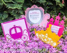 Chystáte pro svoji holčičku narozeninovou oslavu, ale nemůžete sehnat žádné princeznovské pozvánky? V tomto návodu vám ukážeme jak na ně! / Návody na vyřezávání Cutting Plotter