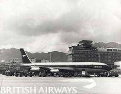 1960s - BOAC Boeing 707-436