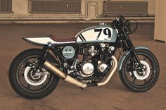 Honda CB900F Cafe Racer Bol d'Or by Andreas Goldemann #motorcycles #caferacer #motos | caferacerpasion.com