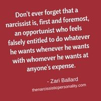 narcissist-is-opportunist. Narcissistic abuse hurts we can heal @TracyAMalone loves this Pin Thanks @Narcissist Abuse #Quote