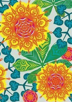 Wycinanki Design by Sally Boyle