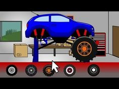 Ô tô đồ chơi: Chiếc xe quái vật đi HỦY DIỆT CÁC XE KHÁC