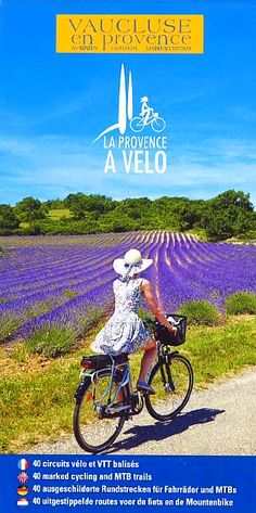 """[New for cyclists] The 2016 map """"Provence by bike"""" has just been released ! You will fin all information about the 40 tours in the Vaucluse in French, English, German and Dutch. To receive it : send us a mail on info@provenceguide.com. You can also download it on http://www.provenceguide.co.uk/pratical-information/download-64-1.html"""