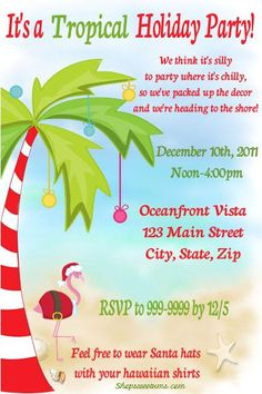 evites for christmas parties