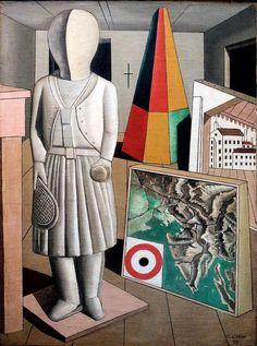 The Metaphysical Muse. 1917 - CARLO CARRA' 1881-1966 #TuscanyAgriturismoGiratola