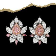 "Art of Jewels on Instagram: ""Pretty in pink"" 4 Diamonds, Pretty In Pink, Brooch, Instagram, Art, Fashion, Art Background, Moda, Fashion Styles"
