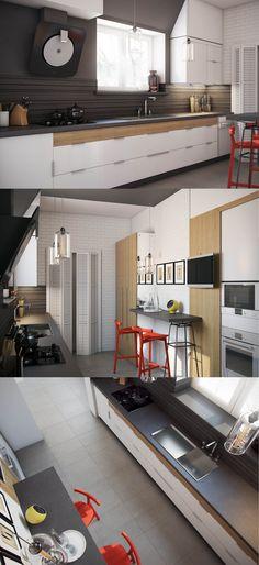Кухня+гостиная - Галерея 3ddd.ru