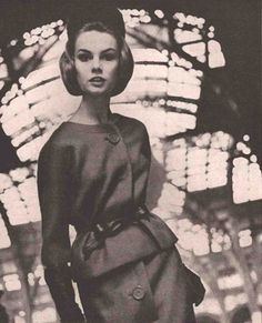 Jean Shrimpton for Vogue 1962 photographed by David Bailey