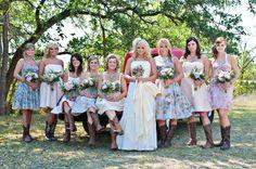Miranda Lambert Wedding. Love this look
