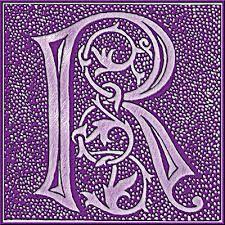 letter purple r - Google-søk
