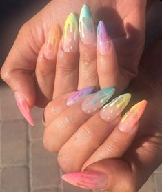 If you like pastel nails and nail designs, if you choose to have beautiful hands, this is your place. Here you can see the best designs and pastel nails to get ideas. In this article, you will see spectacular nail… Continue Reading → Acrylic Nails Coffin Short, Summer Acrylic Nails, Best Acrylic Nails, Coffin Nails, Summer Nails, Pastel Nails, Spring Nails, Acrylic Nails Stiletto, Cute Acrylic Nail Designs